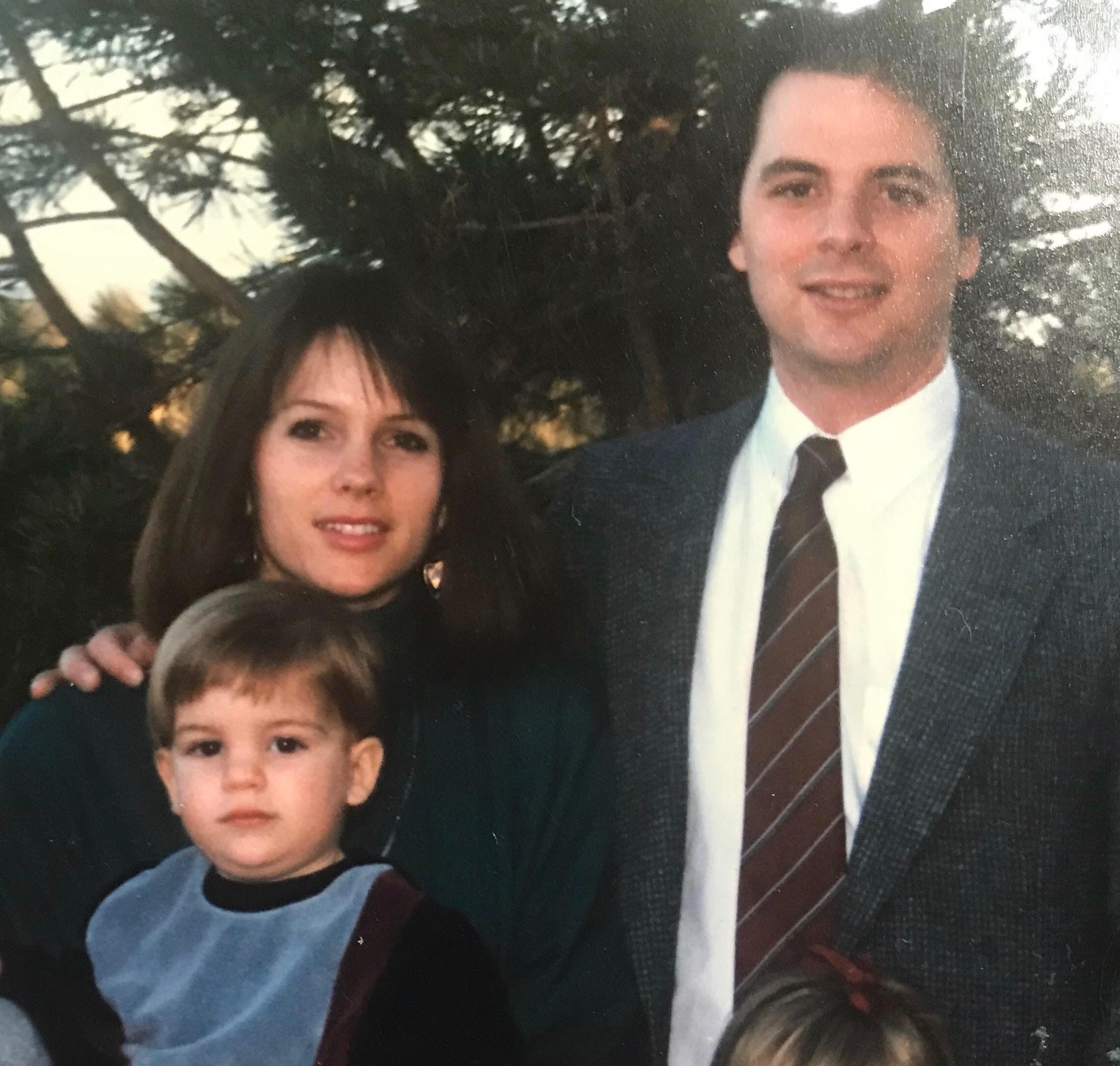 Kevin, Janet and John Foley
