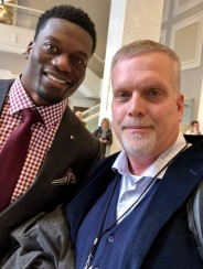 Del-Duduit-with-Benjamin-Watson-at-SB-Lll-in-Minneopolis