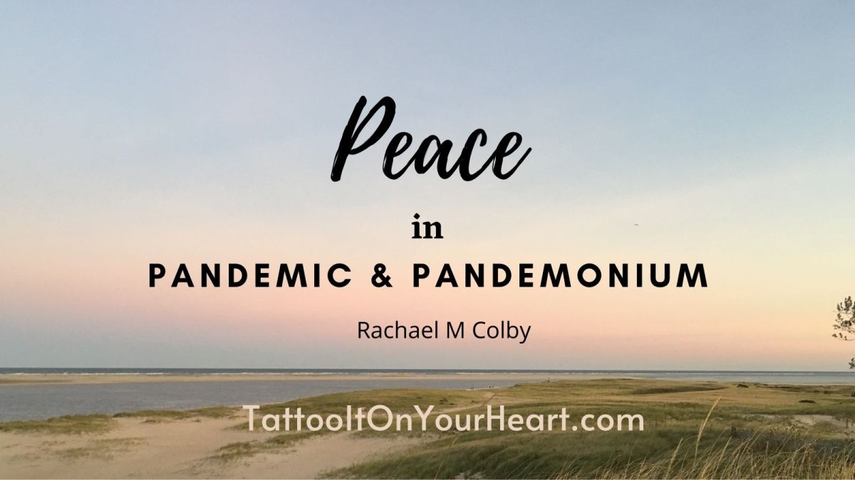 Peace in Pandemic & Pandemonium